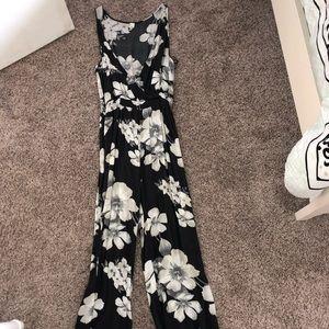 Aeropostale Pants - Floral Jumpsuit